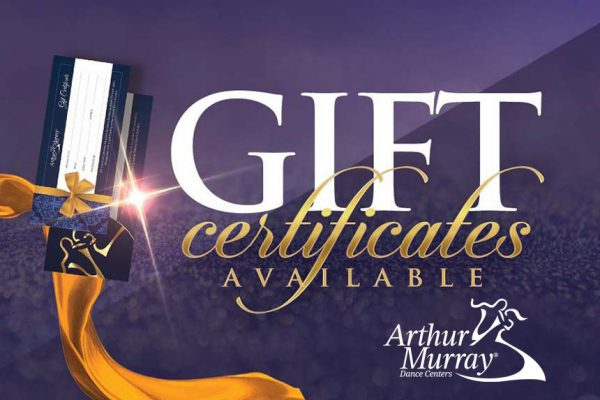 Arthur Murray New Jersey Gift Certificates
