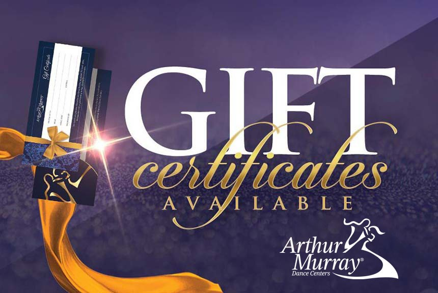 Arthur Murray New Jersey Gift Certificates